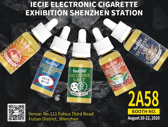 feellife in IECIE Shenzhen vape expo 2020