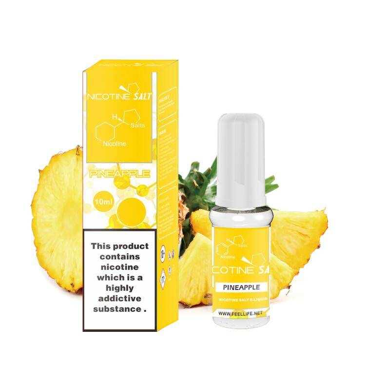 Pineapple nicotine salt e-liquid Featured Image