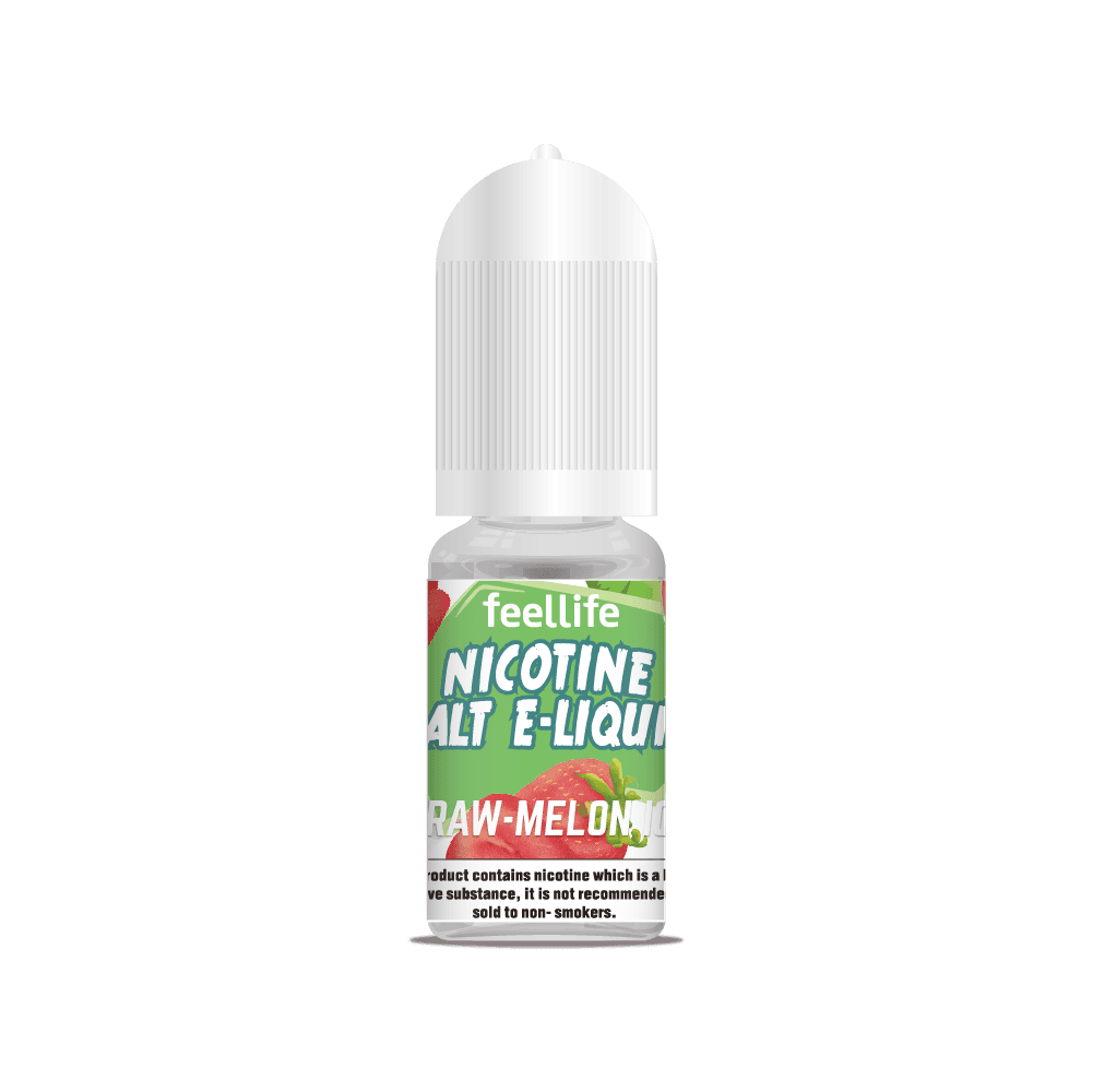 Straw-melon ice nicotine salt ejuice Featured Image