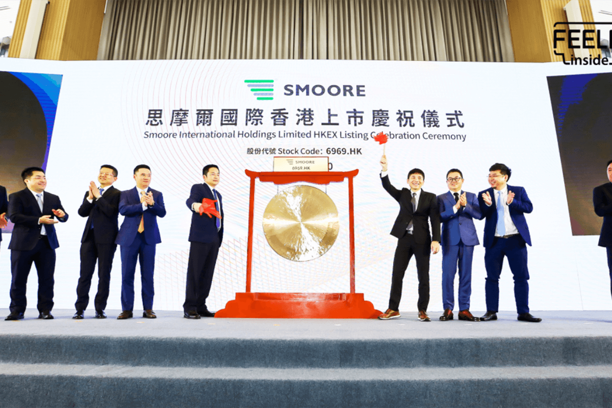 SMOORE Lists on Hong Kong Stock Exchange