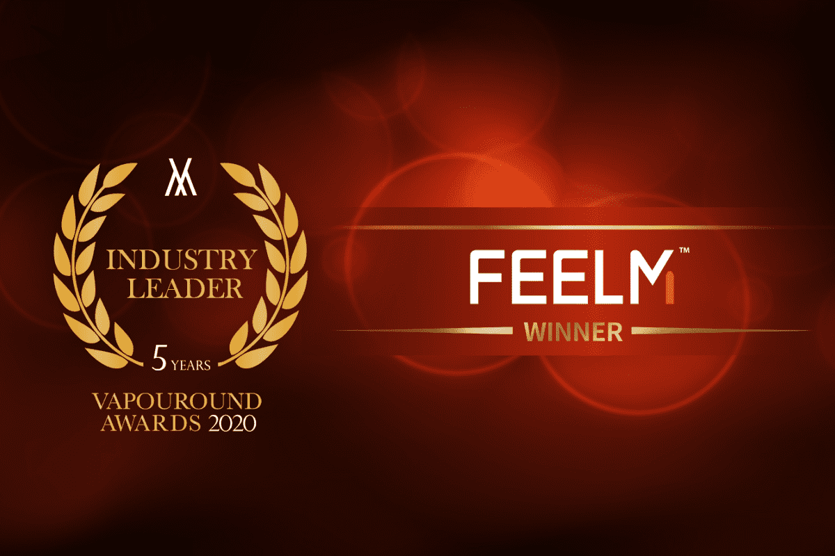 FEELM Granted as Industry Leader at Vapouround Awards 2020
