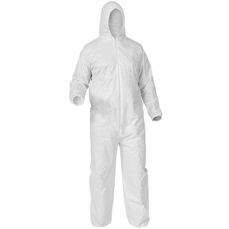 Factory price Disposable streile protective clothing used in clean room