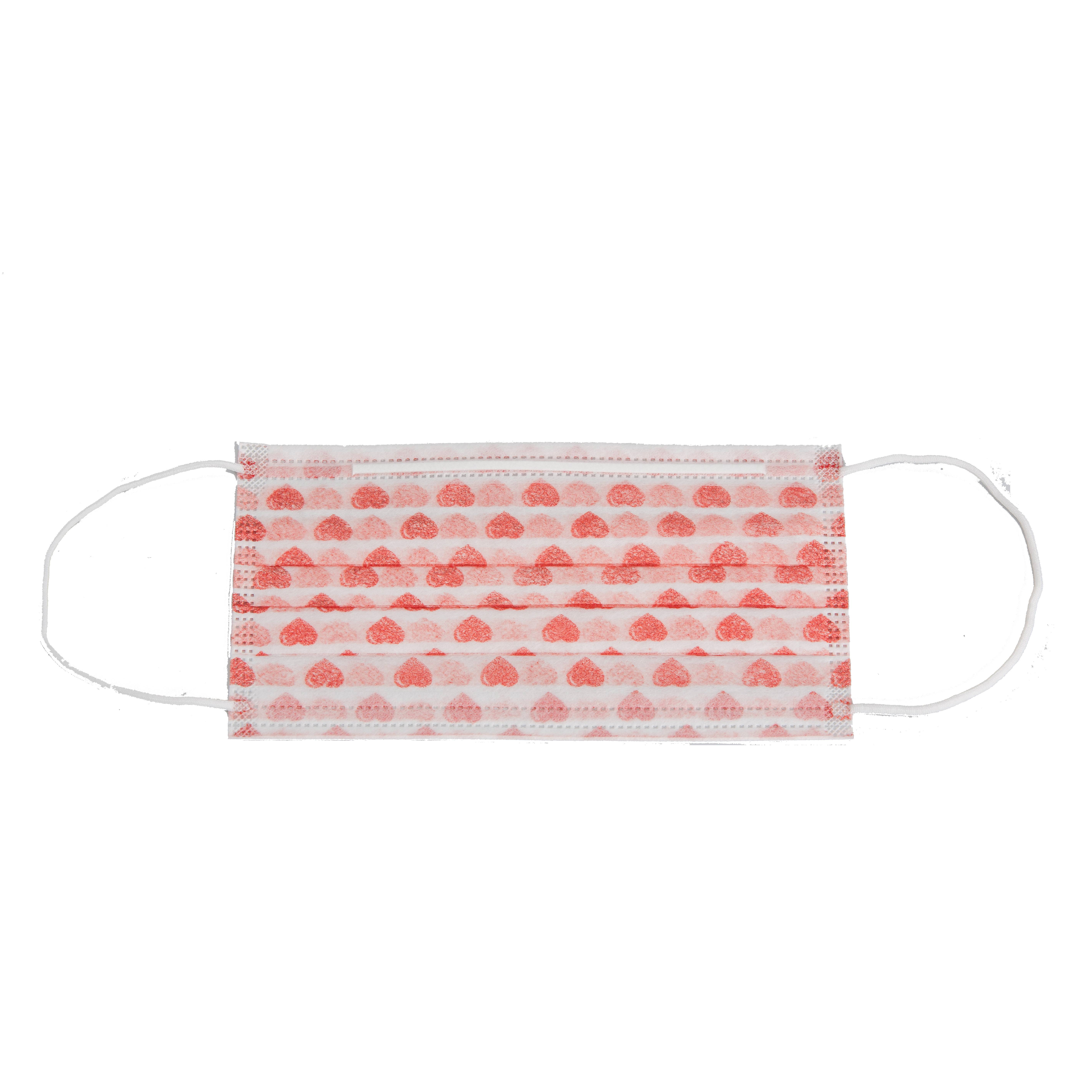 high quality cheap disposable non woven print face mask