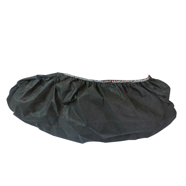 Hot sale medical consumable durable black shoe covers China supplier