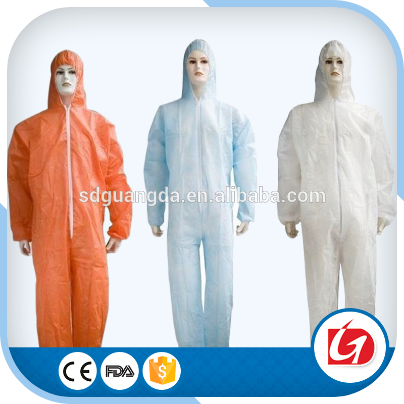 Factory wholesale disposable cloting/protective clothing for industry