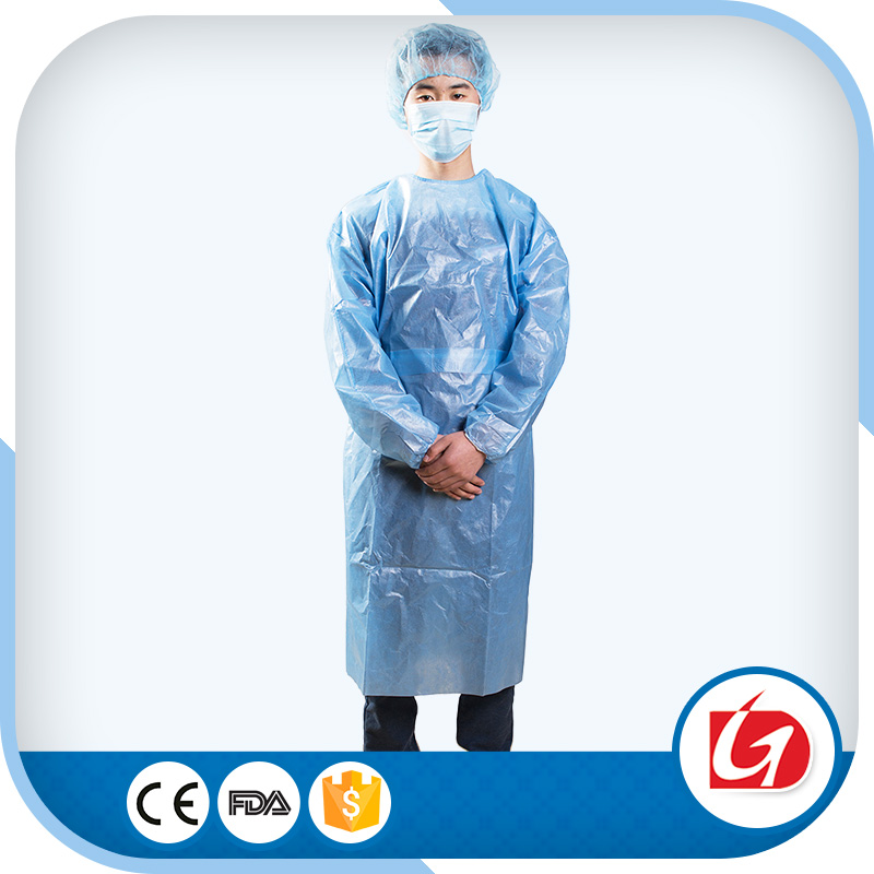 Machine Manufacturers Surgical Disposable Isolation Gown
