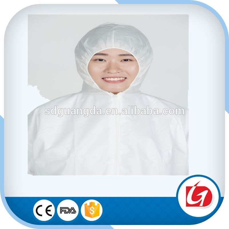Disposable protective clothing/nuclear protection suit disposable coverall