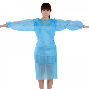 Dental Disposable Gowns SMS nonwoven Gown