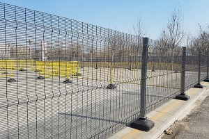 PVC Coated anti-climb fence