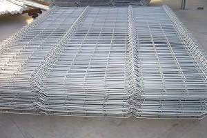 Galvanized 3D Fence