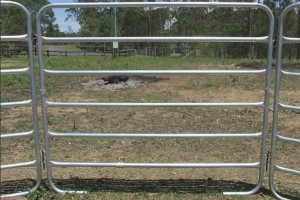 horse fence panel