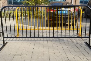 PVC Painted Crowd Control Barrier