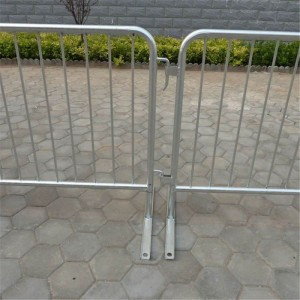 Galvanized Traffic Barrier