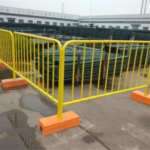 PVC Crowd Control Barrier Temporary Fence
