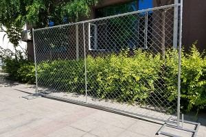 USA standard temporary fence/Chain link temporary fence