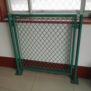 Pvc Coated Chain Link Fnnce with Post