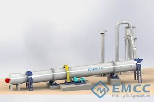 Usaha Rotary Drum Dryer