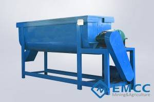 Horizontal Fertilizer Mixer