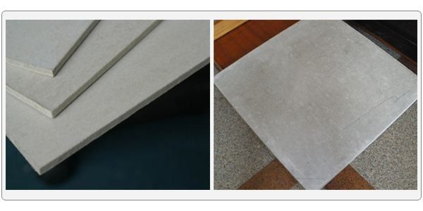 High Density Fiber Cement Cladding Boards Building Materials With A1 Fireproof Class