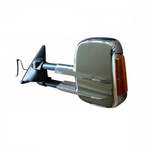 Fun Nissan L100 L200 trailer Mirror Electric Chrome Signal
