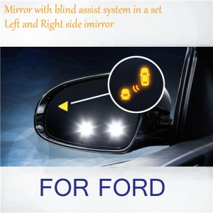 For Ford Refit Blind Spot Indicator Mirrors