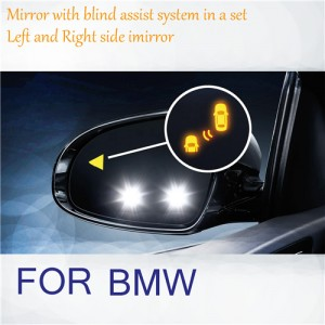 BMW refit Blind spot indicator mirrors