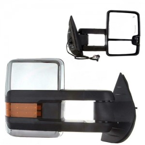 For PATROL-GU towing mirror Electric CHROME Signal HF-7255C