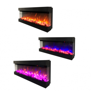 3 Side Electric Fireplace HK50WM