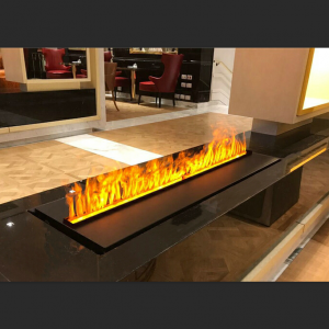 3D Simulation Water Steam Fireplace HK-02