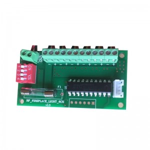 RF CONTROL 24V output fireplace control board with Remote Handset(FR002)