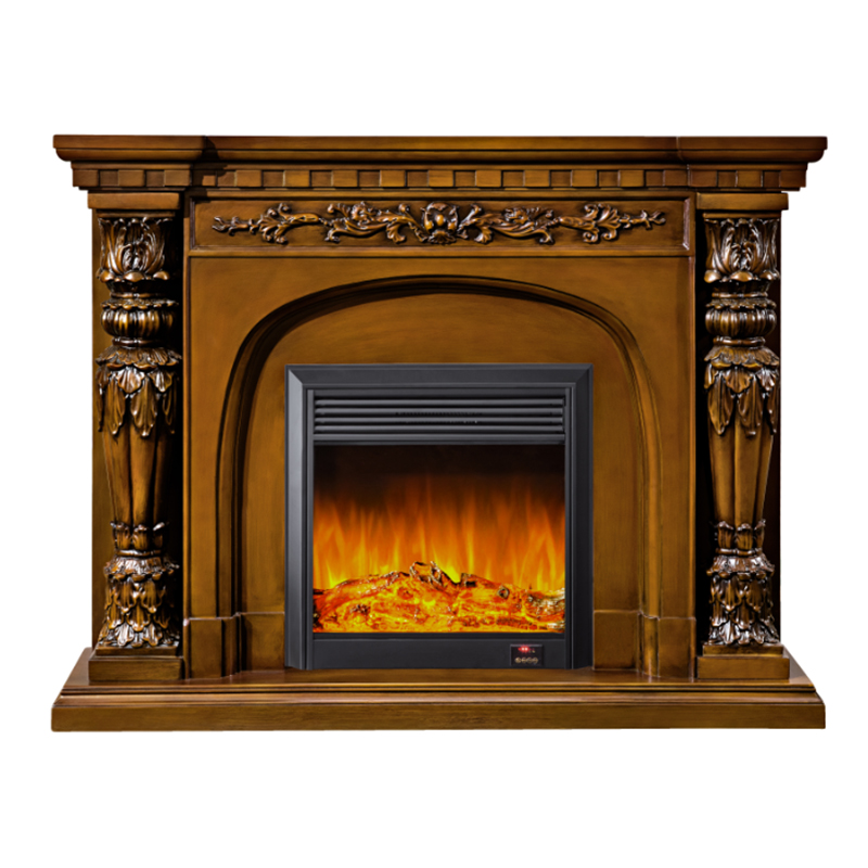 LED Simulation Flame Electric Fireplace02