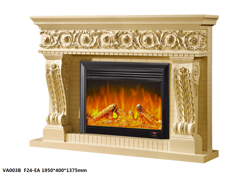 LED Simulation Fire Electric Fireplace05