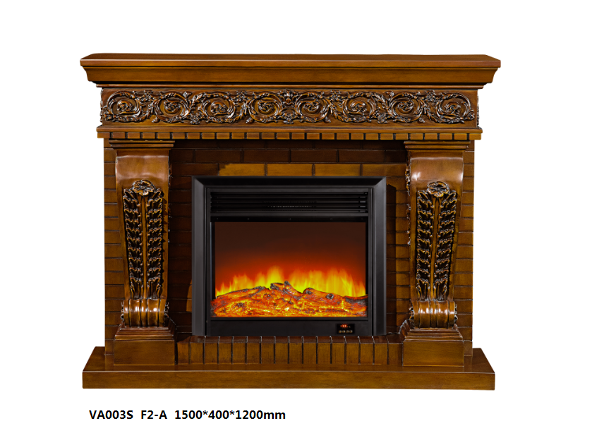 LED Simulation Fire Electric Fireplace07
