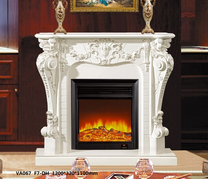 LED Simulation Fire Electric Fireplace08