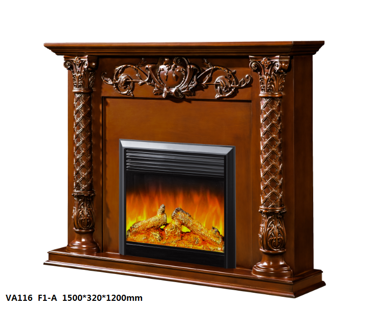 LED Simulation Fire Electric Fireplace10
