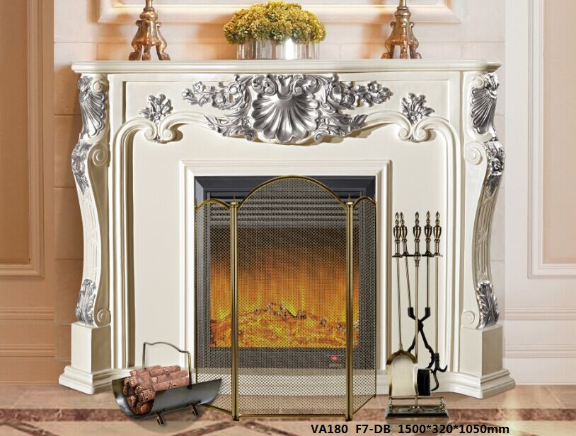 LED Simulation Auahi Electric Fireplace12