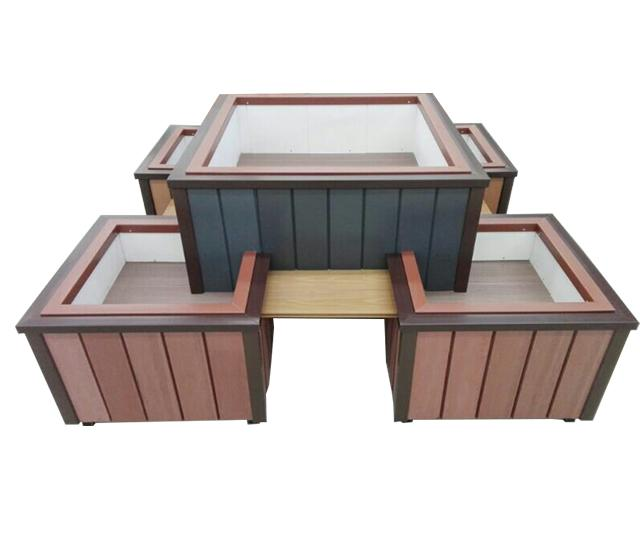 Wood plastic flower box Featured Image