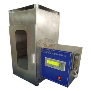Textile Fabrics Vertical Fire Testing Equipment