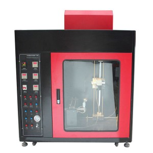 Horizontal-Vertical and Needle Flame Burning Machine