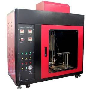 Foam Plastics Horizontal and Vertical Flammability Tester