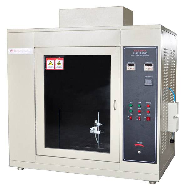 Needle Flame Test Chamber Featured Image