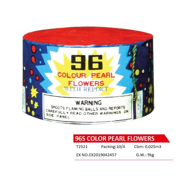 T2521  96S COLOR PEARL FLOWERS