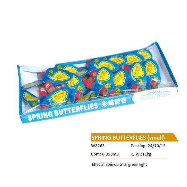 W526S SPRING BUTTERFLIES small