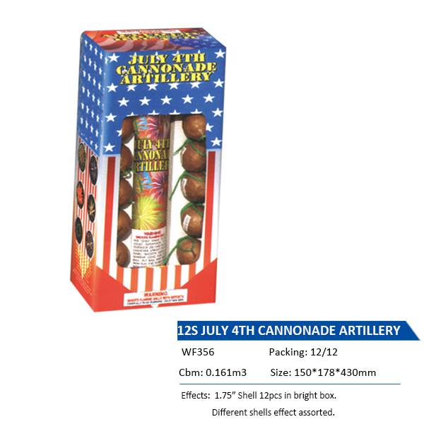 WF356  12S JULY 4TH CANNONADE ARTILLERY