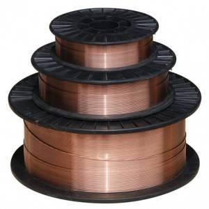 ER70S-6 Gas Shielded Wire ເຊື່ອມ Solid