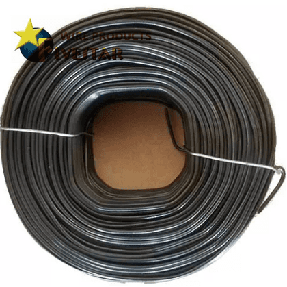 Square Hole Bar Tie Wire, Black Annealed ~ 16G Featured Image