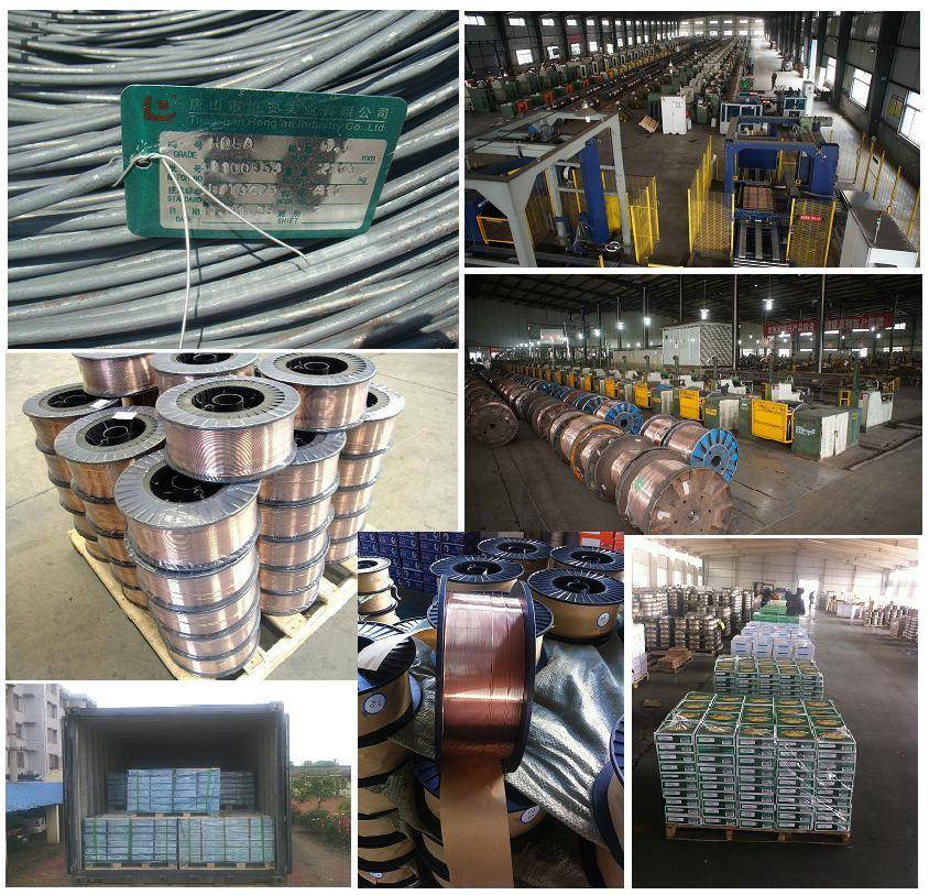 Welding wire factory