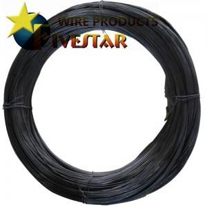Wire Annealed Black (rum cravatta)