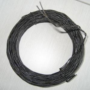 Black annealed double twist wire