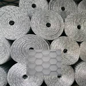 Galvanized hexagonal netting poultry netting